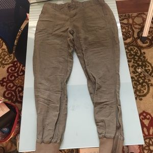 Old Navy Ankle Zip Joggers